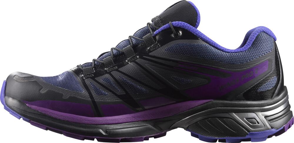 Salomon Wings Pro 2 GTX Chaussures de running grisviolet